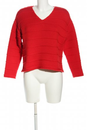 Dirocco Wollpullover rot Casual-Look