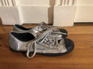 Disco Pailletten Sneaker Silber von Aldo Größe 38