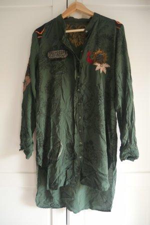 Disigual Long Sleeve Shirt khaki