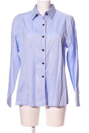 Dismero Hemd-Bluse blau Business-Look