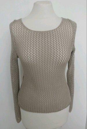 Dismero Szydełkowany sweter Wielokolorowy