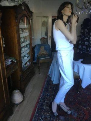 Dismero Five-Pocket Trousers white cotton