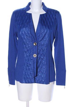 Dismero Shirtjacke blau Steppmuster Business-Look