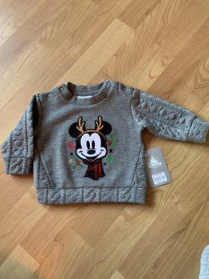 Disney Sudadera navideña gris
