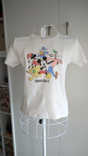 basics clockhouse Cropped shirt wit
