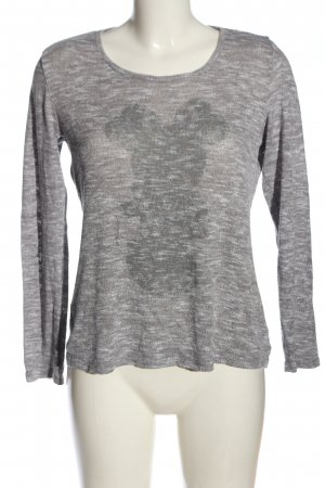 Disney Fine Knit Jumper light grey-white flecked casual look