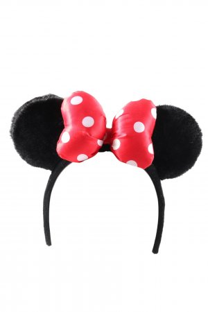 Disney Hair Circlet black-red spot pattern party style
