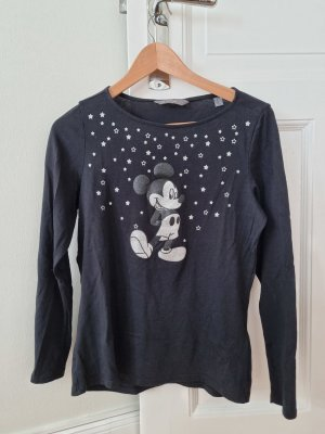 Disney Manica lunga nero-argento