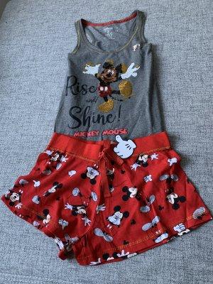 Disney Mickey Maus Pyjama Set mit Pailletten