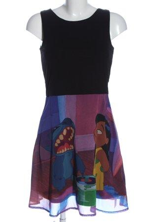 Disney Sukienka mini Nadruk z motywem W stylu casual