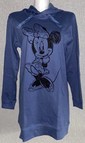 Disney Bluza z kapturem stalowy niebieski