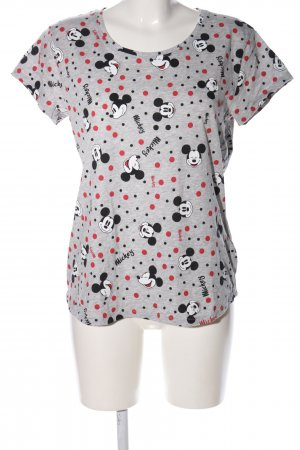 Disney Print-Shirt Allover-Druck Casual-Look