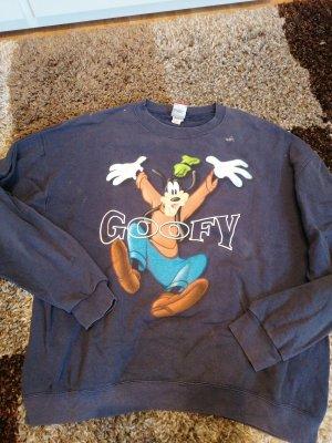 Disney Oversized Sweater neon orange-dark blue