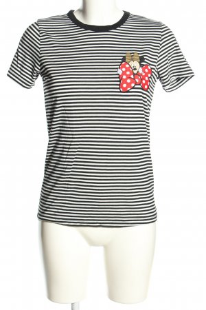 Disney Ringelshirt Motivdruck Casual-Look