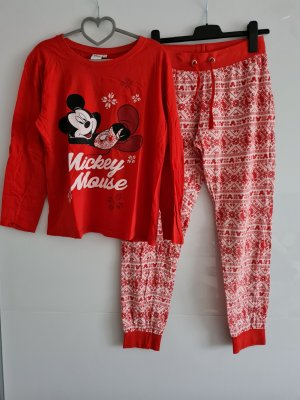 Disney Pyjama white-red