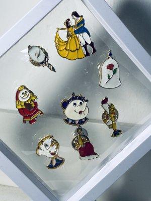 Disney Schöne und das Biest Anstecknadeln komplett Set Pins