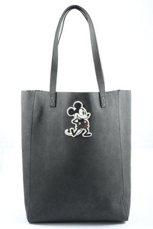 Disney Shoulder Bag black-white themed print casual look