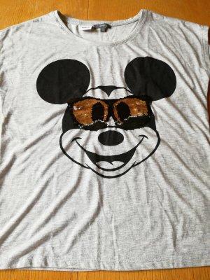 Disney T-shirt grigio chiaro
