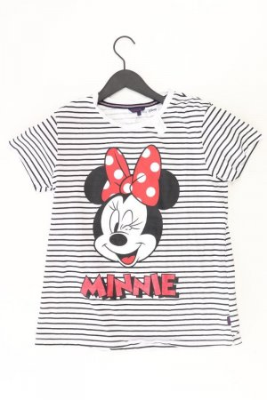 Disney Shirt Größe M gestreift weiß aus Baumwolle
