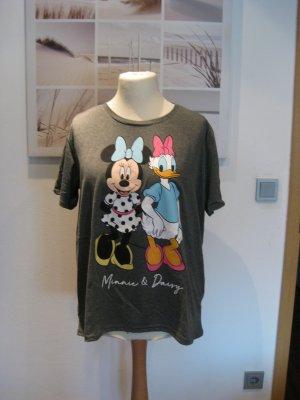 Disney T-Shirt dark grey cotton