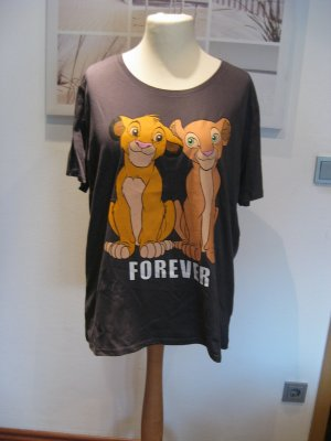 Disney T-Shirt anthracite-light orange