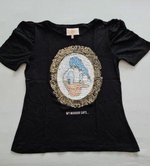 Disney Stars Shirt Orginal Gr. M Schwarz sehr auffallend wie neu selten getragen hoher Neupreis