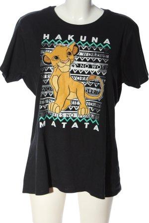 Disney Strickshirt Motivdruck Casual-Look