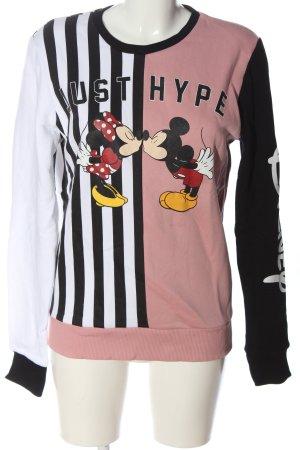Disney Sweatshirt Motivdruck Casual-Look