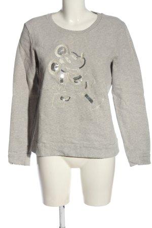 Disney Sweat Shirt light grey themed print casual look