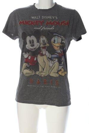 Disney T-Shirt hellgrau meliert Casual-Look