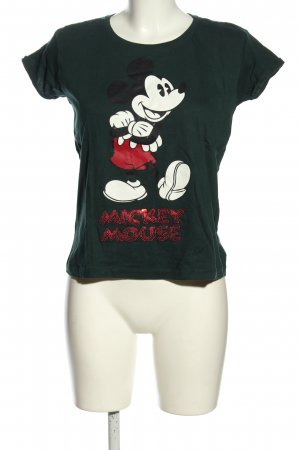 Disney T-Shirt grün Motivdruck Casual-Look