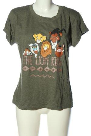Disney T-Shirt khaki Motivdruck Casual-Look