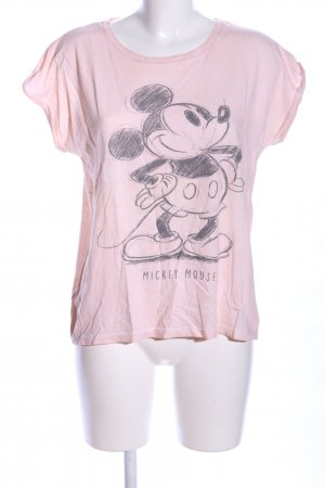 Disney T-Shirt pink-schwarz Motivdruck Casual-Look