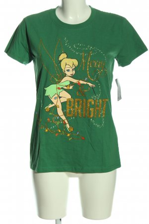 Disney T-Shirt grün Motivdruck Casual-Look