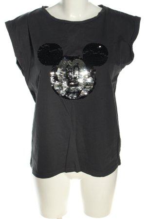 Disney T-Shirt hellgrau Motivdruck Casual-Look
