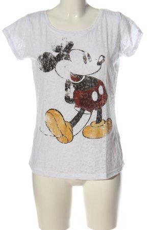 Disney T-shirt imprimé avec thème style décontracté