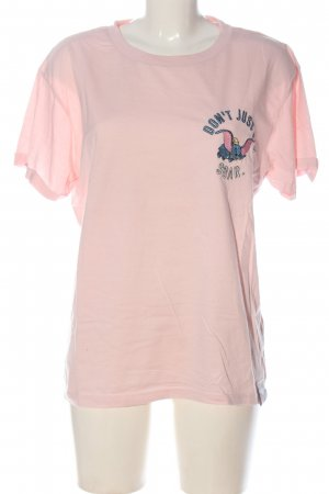 Disney T-Shirt pink printed lettering casual look