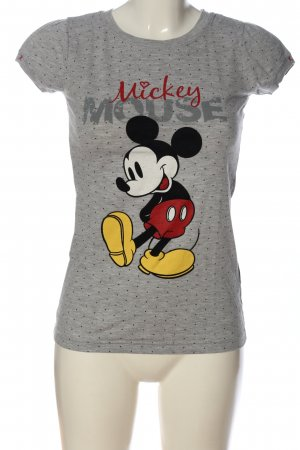 Disney T-Shirt hellgrau meliert Casual-Look
