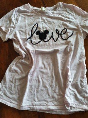 Disney T-shirt imprimé rose clair