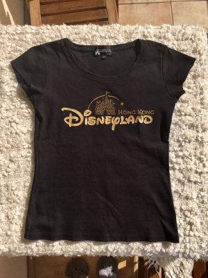 Disney T-Shirt Schwarz und Gold