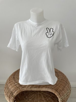 Disney T-Shirt weiß Micky Mouse Gr L Weiß