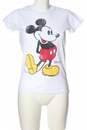 Disney T-Shirt weiß Motivdruck Casual-Look