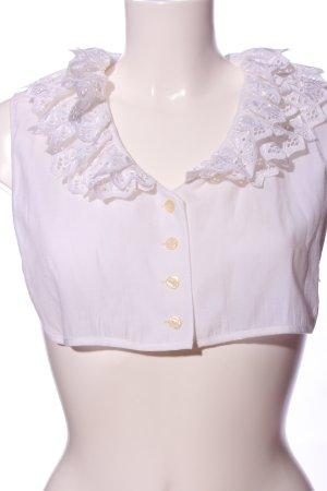 Distler Blouse kraagje wit straat-mode uitstraling