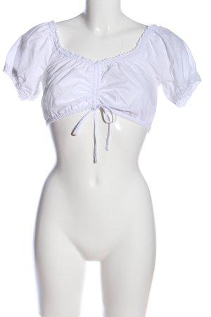 Distler Top corto bianco stile casual