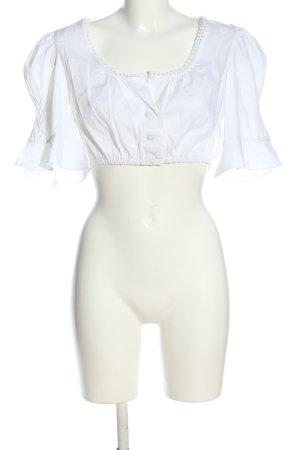Distler Dirndl bianco elegante