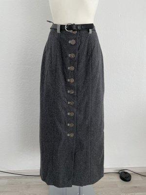 Distler gr 38 grau Trachtmode Dirndl Wolle