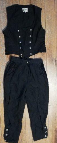 Distler Pantalon bavarois noir