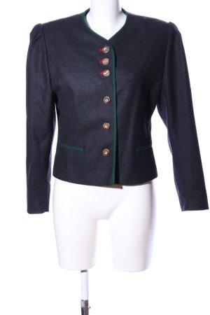 Distler Folkloristische jas lichtgrijs zakelijke stijl