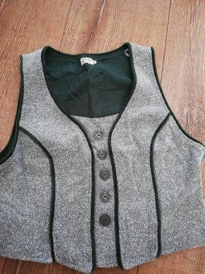 Distler Traditional Camisole light grey-dark green