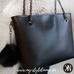 Pippa & Jean Shopper black
